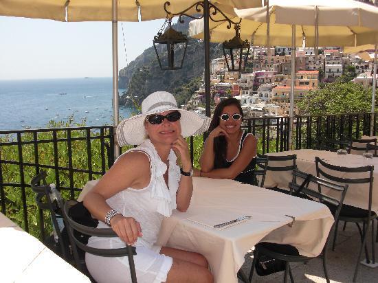 Bruno's in Positano, Amalfi Coast