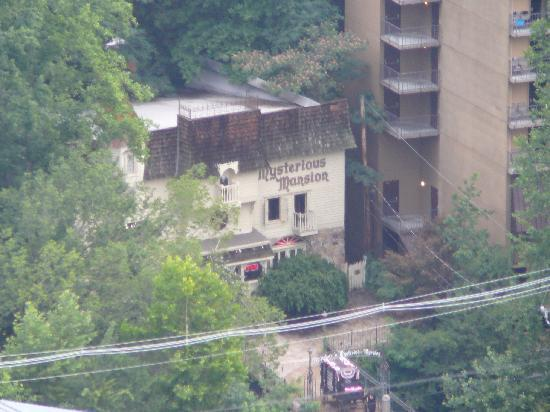 Mysterious Mansion seen from Space Needle Observation Tower 2011