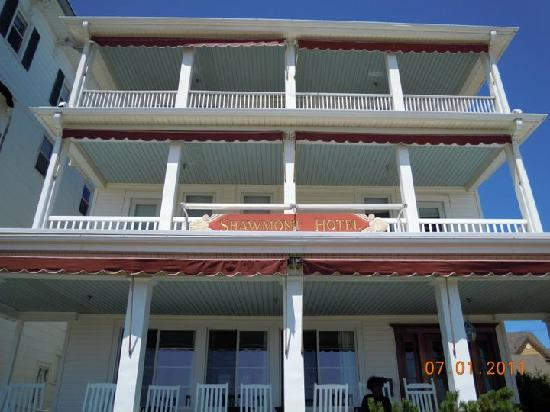 Ocean Grove, Nueva Jersey: Front of the Shawmont