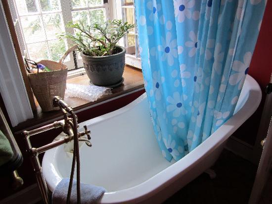 Maison Historique James Thompson: Gorgeous tub!