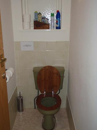 Stockwell Lodge Guest House: Shared toilet (had it all to myself)