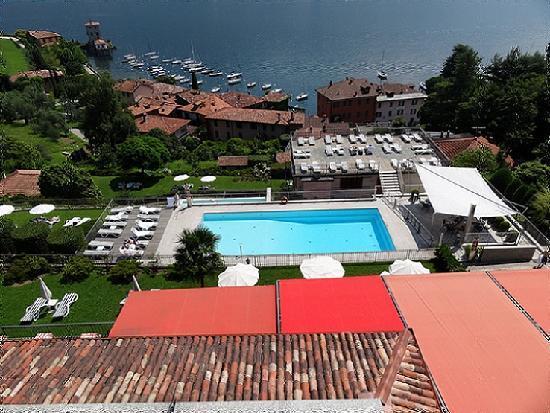 Hotel Belvedere Bellagio: Vue sur Pescallo