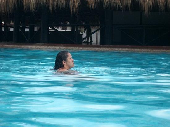 Isla Caribe Beach Hotel: Un rico baño!!!!!!!!!!!!