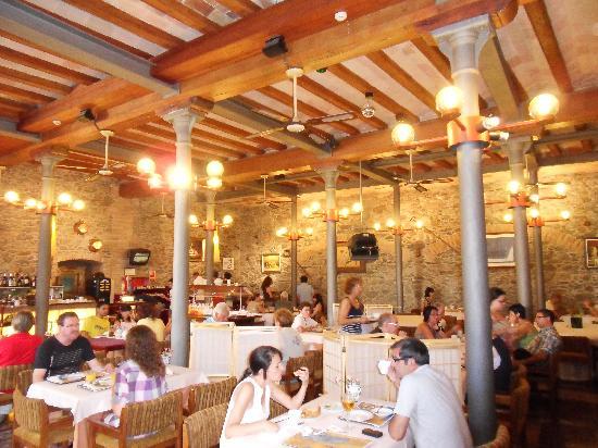 Hotel Spa Porto Cristo: The restaurant