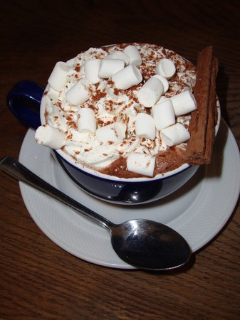 Number 12 Tearoom and Restaurant: My hot chocolate special