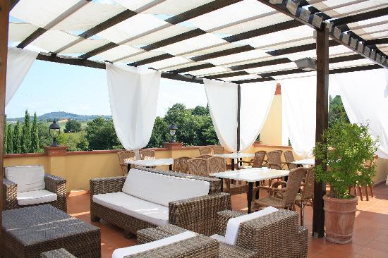 Cascina De' Fagiolari: terrazza