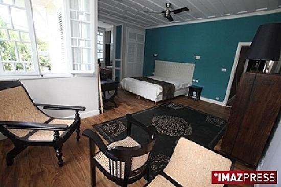 Villa Angélique : Chambre décorée avec soin