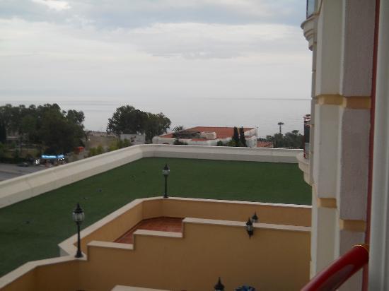 Club Hotel Sera: вид с окна