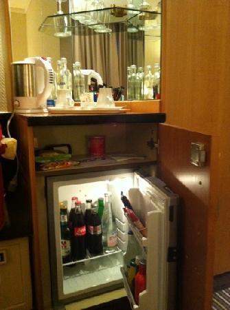 โรงแรม สวิสโซเทล ซูริช: minibar