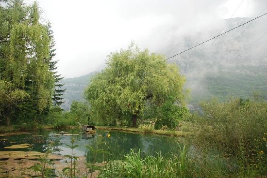 La Cascade : L'étang