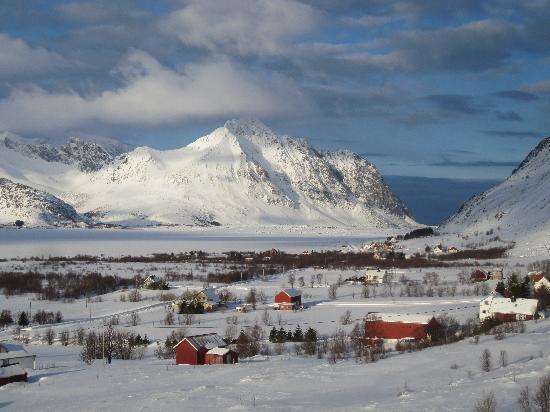 Lofoten Island: stunning scenery like this everywhere we drove