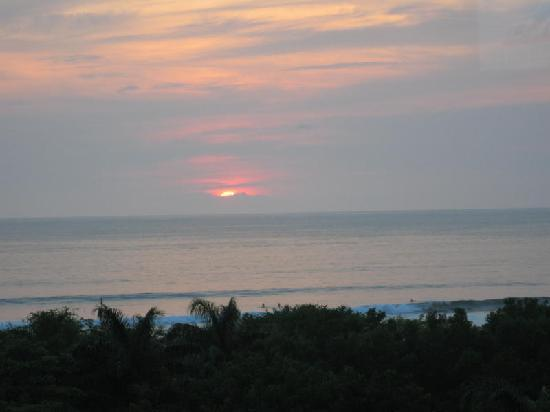 Best Western Tamarindo Vista Villas: Sunset after a rainy day - taken from our balcony
