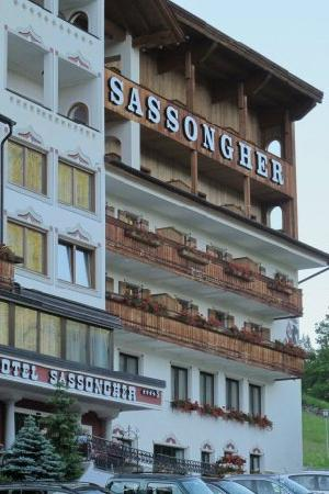 Sassongher Hotel: The Sassongher