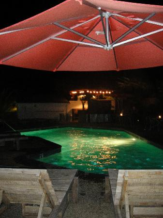 boon hotel & spa: night swimming