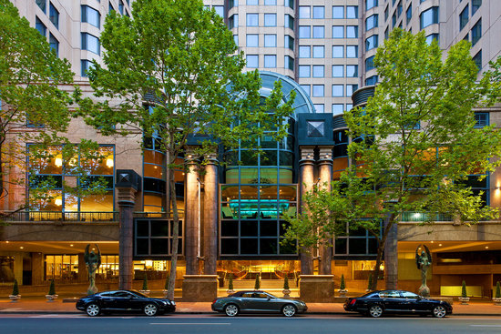 Sheraton on the Park, Sydney: Exterior