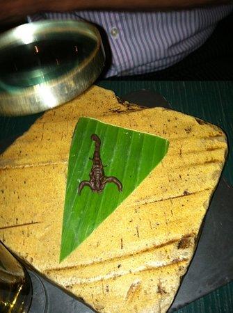 Archipelago: chocolate covered scorpion