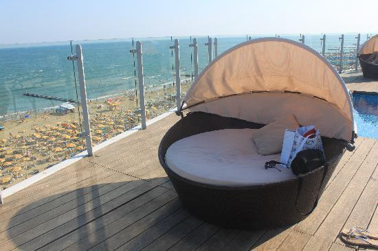 Hotel Atlantico : Comfy chair on the roof