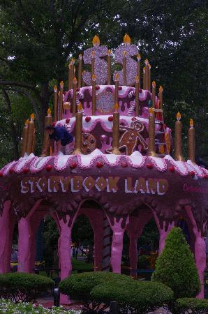 Storybook Land Birthday Cake