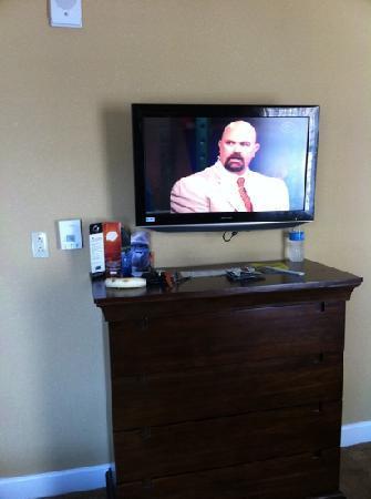 Holiday Inn Express Savannah-Historic District: flat screen TV that swivels
