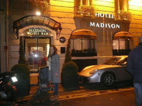 Madison Hotel by MH: el frente
