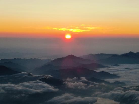 Mount Fuji: ご来光