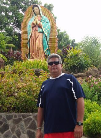 Statue of the Divine Mercy : holy mary...