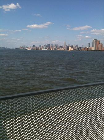Jersey City, Nueva Jersey: view from the ferry