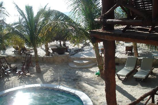 Holbox Dream Beach Front Hotel by Xperience Hotels: view from balcony