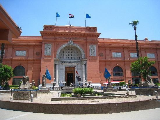 El Cairo, Egipto: Egyptian history museum - King Tut's stuff!