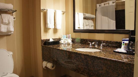 Holiday Inn Express & Suites Seattle North - Lynnwood: Bathroom