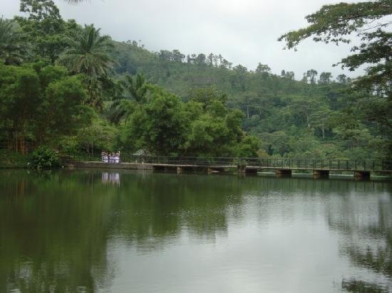 Elkaduwa, Sri Lanka: the bridge