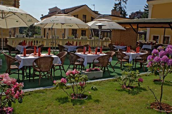 Parkhotel Brno: Terrace