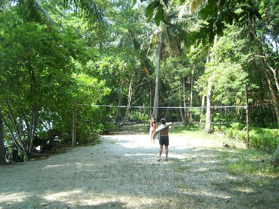 Alam Kotok Island Resort: The soon to moved Volley Ball court.