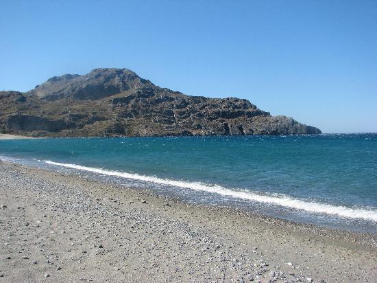 Alianthos Beach Hotel: пляж