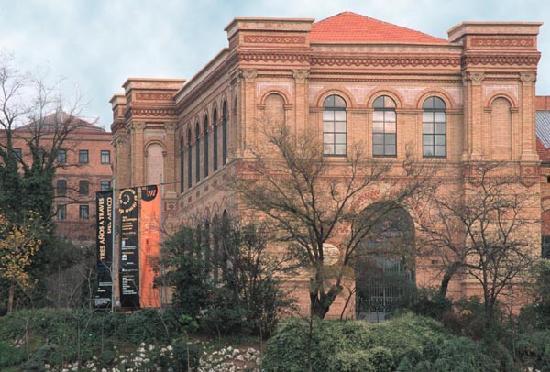 Museo Nacional de Ciencias Naturales: Entrada principal al Museo