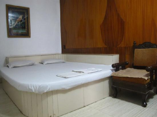 Sai Palace: Another cozy Taj view room with AC