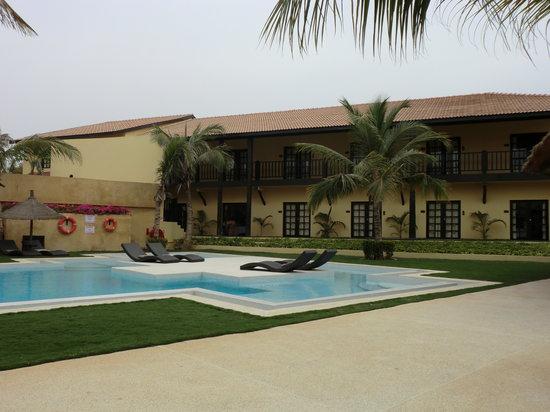 The Rhino Resort Hotel & Spa : vista piscina