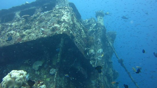 Rabaul, Papua New Guinea: Accessible wrecks
