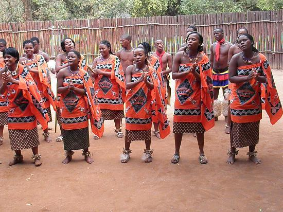 Pretvan Tours: Swaziland dance group