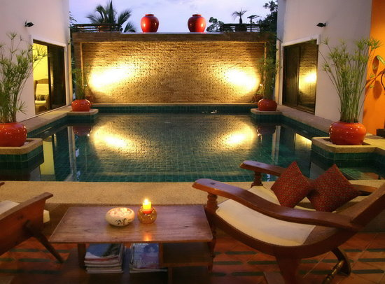 Evergreen Boutique Hotel : Very relaxed pool & bar