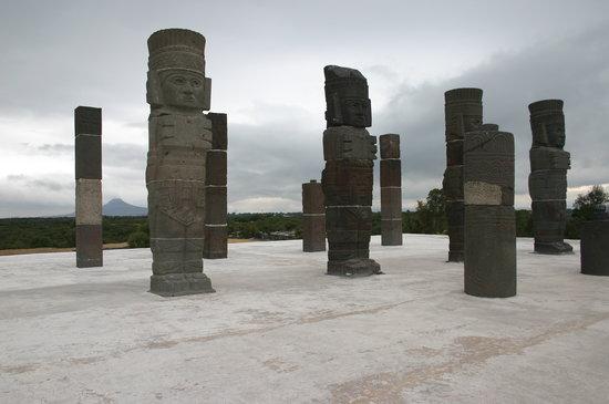 Tula de Allende, Mexico: Atlantes