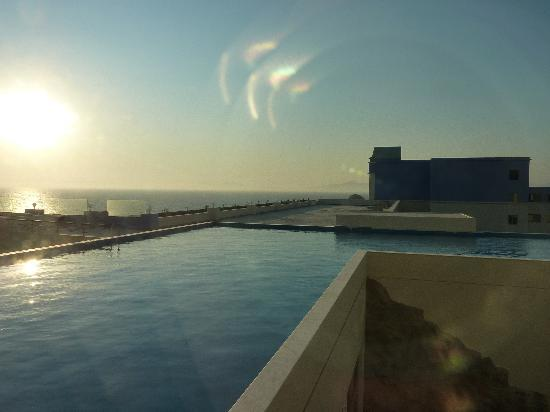 Atrium Platinum Hotel: Beautiful Sunset View Over Turkey