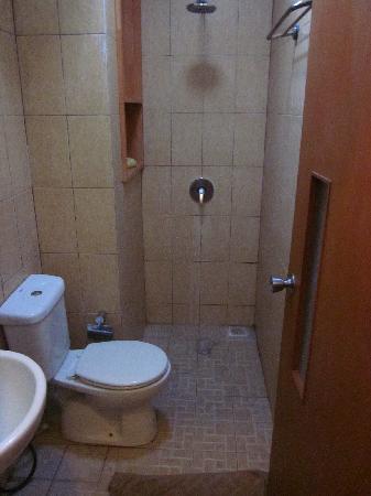 Pondok Sari Kuta Bali: Bathroom, floor flouds completely after every shower1