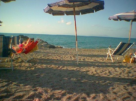 Piraino, Italie : spiaggia1
