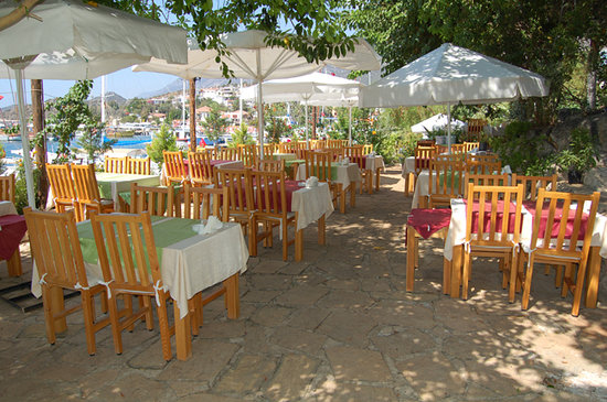 Sultan Garden Restaurant : Sultan garden in Kas, Turkey