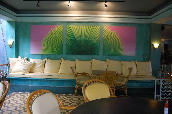 Couples Swept Away: Palm's restaurant