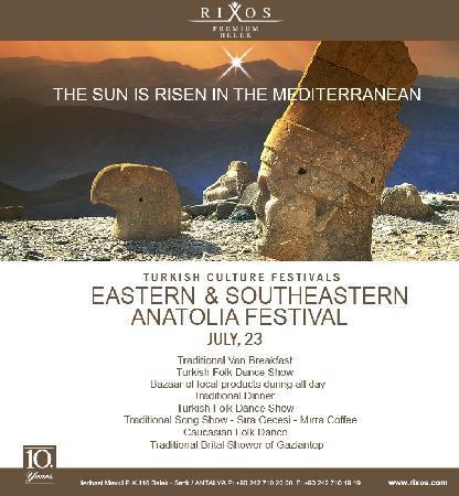 Rixos Premium Belek: Eastern & Southeastern Anatolia Fest