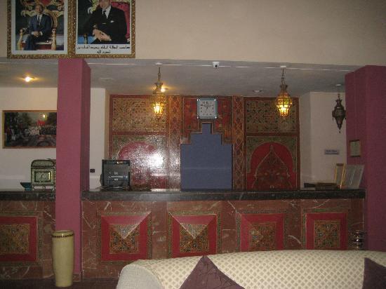 Hotel Reda : la reception