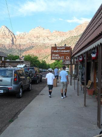Bumbleberry Inn: Strolling in town