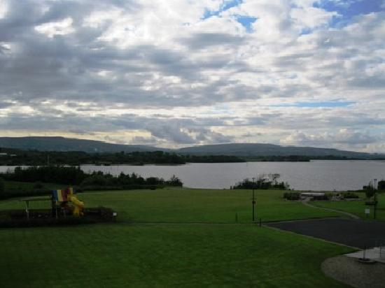 Drumshanbo, Ireland: View from the Balcony of Room 310